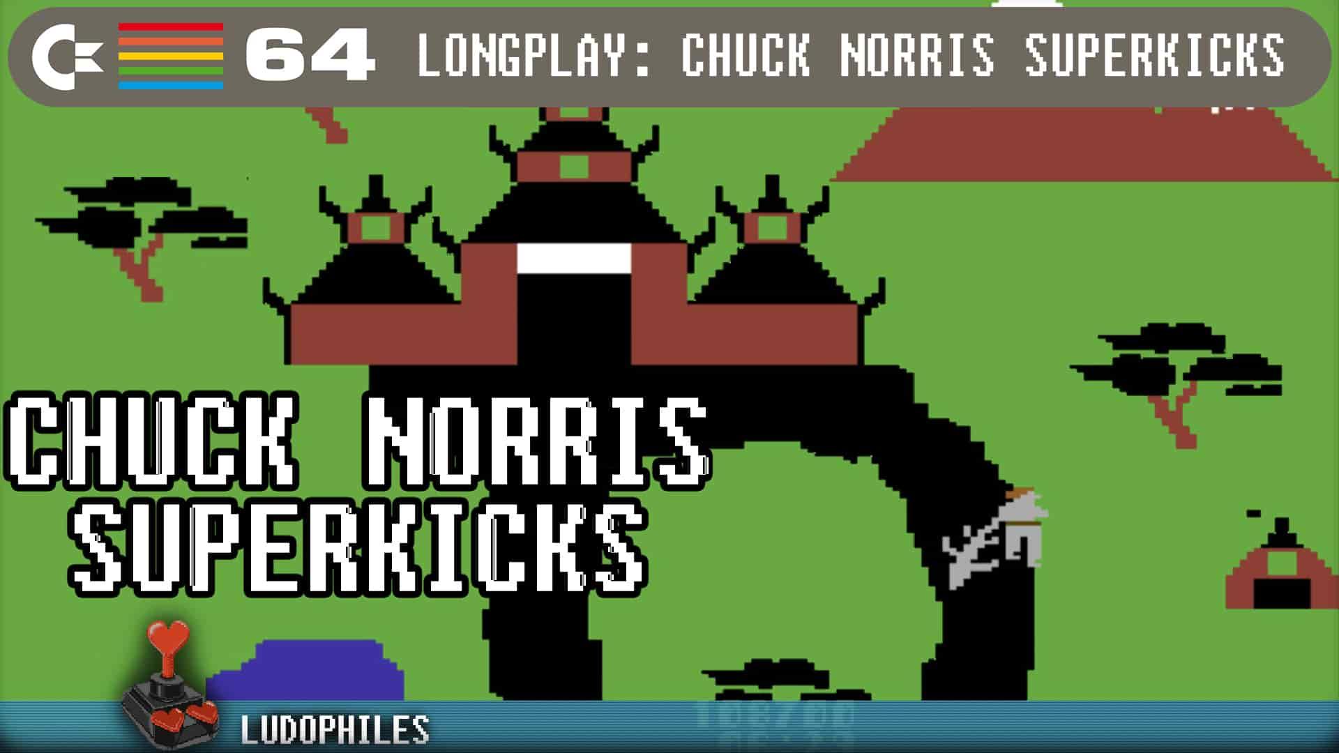 Chuck Norris Superkicks C64 Longplay