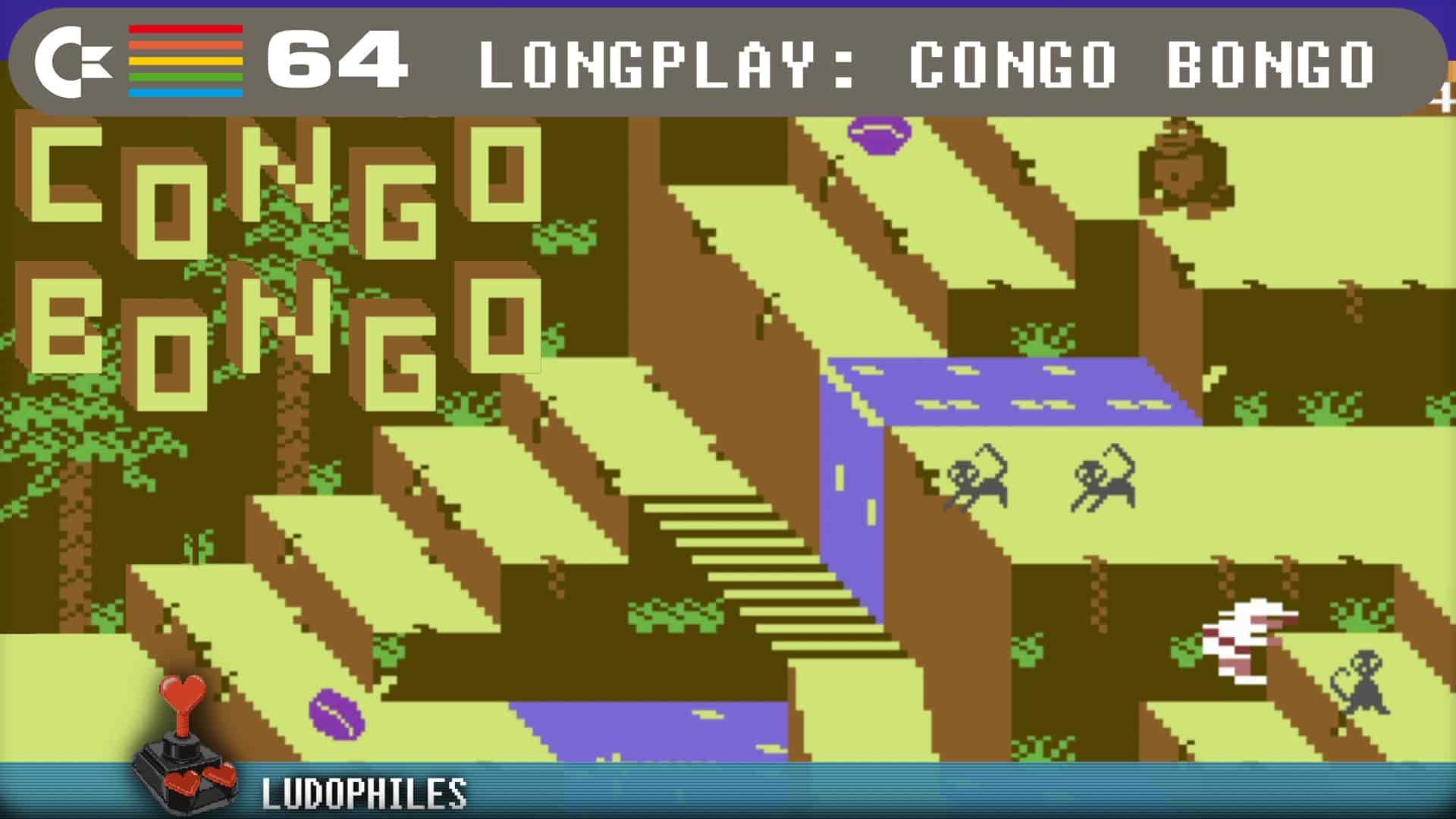 Congo Bongo 1983 C64 Longplay