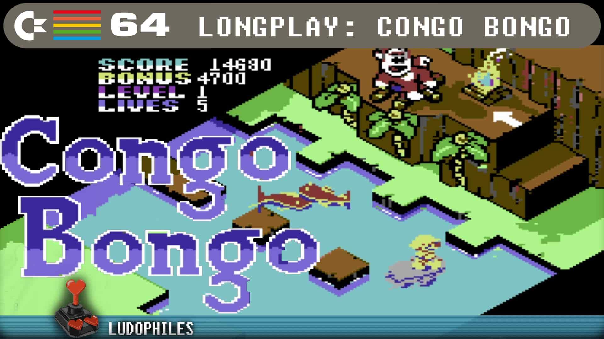 Congo Bongo 1985 C64 Longplay