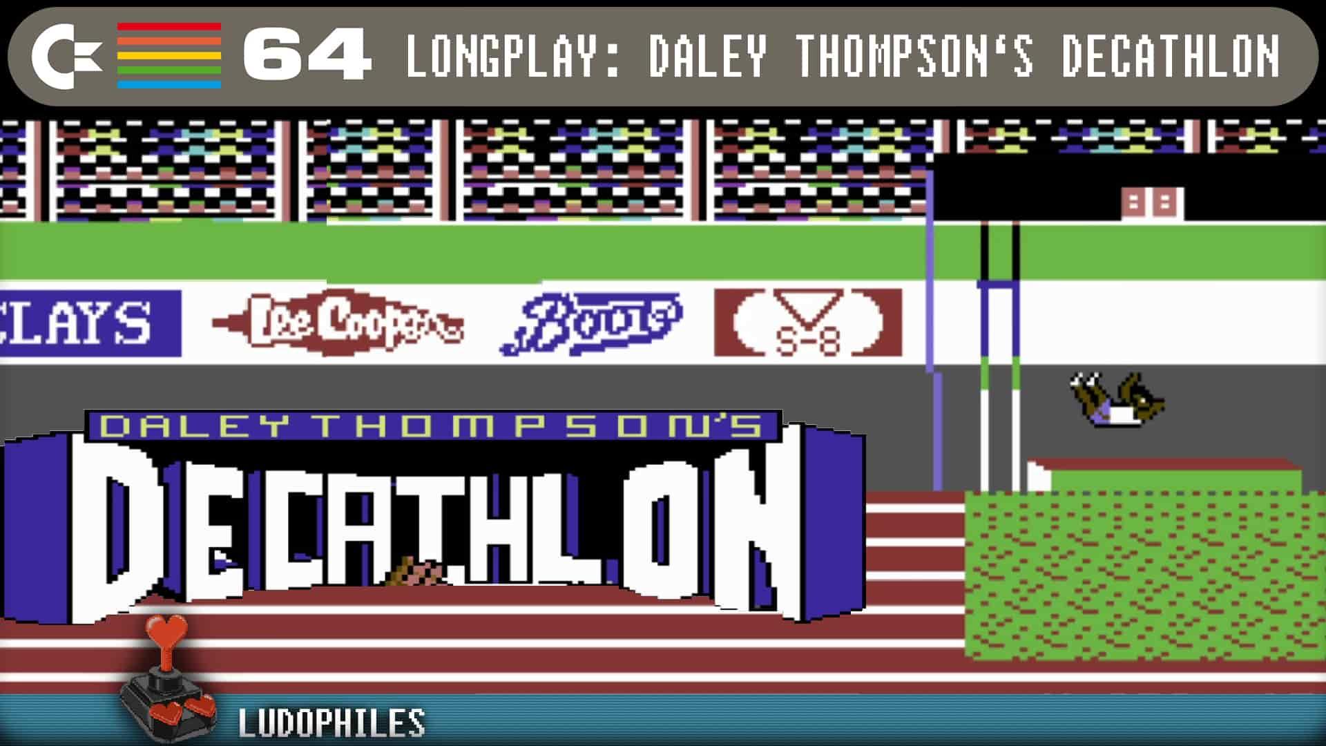 Daley Thompsons Decathlon C64 Longplay