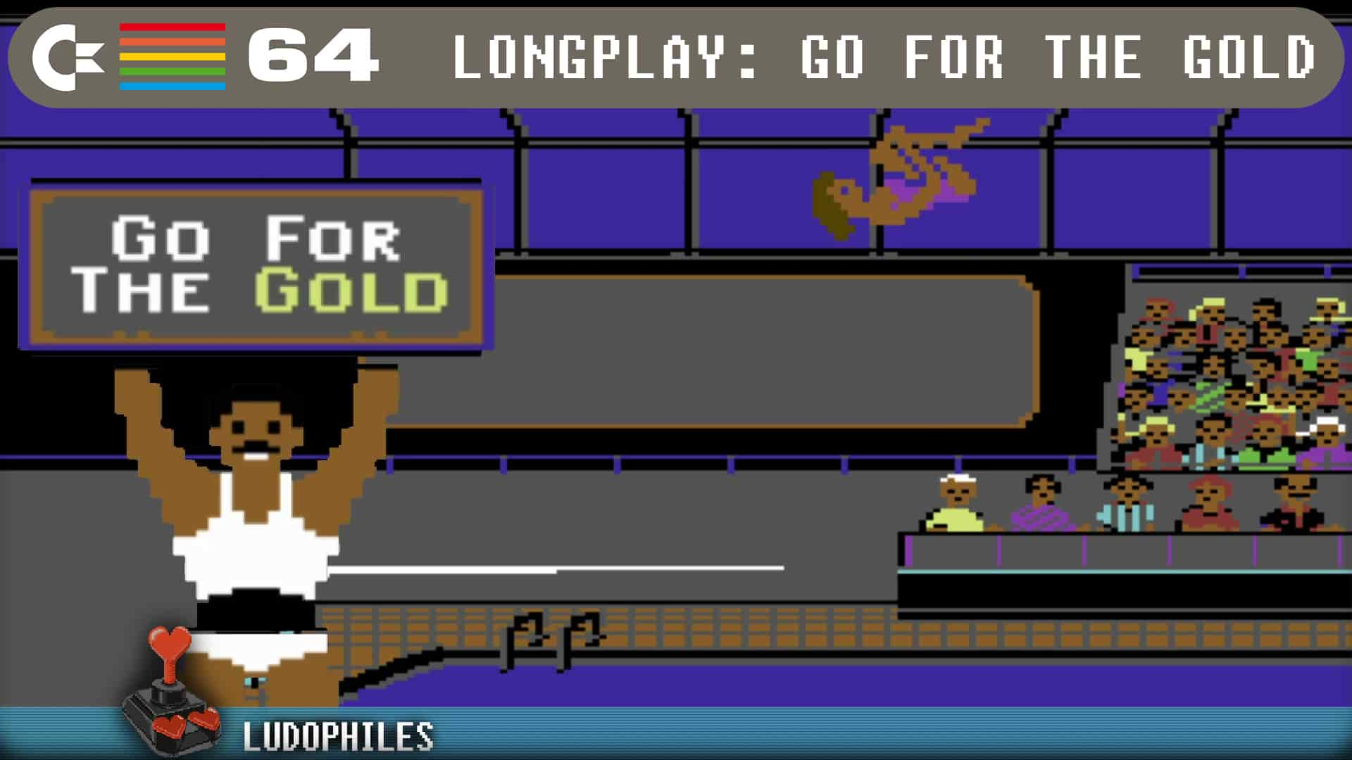 Go For The Gold C64 Longplay