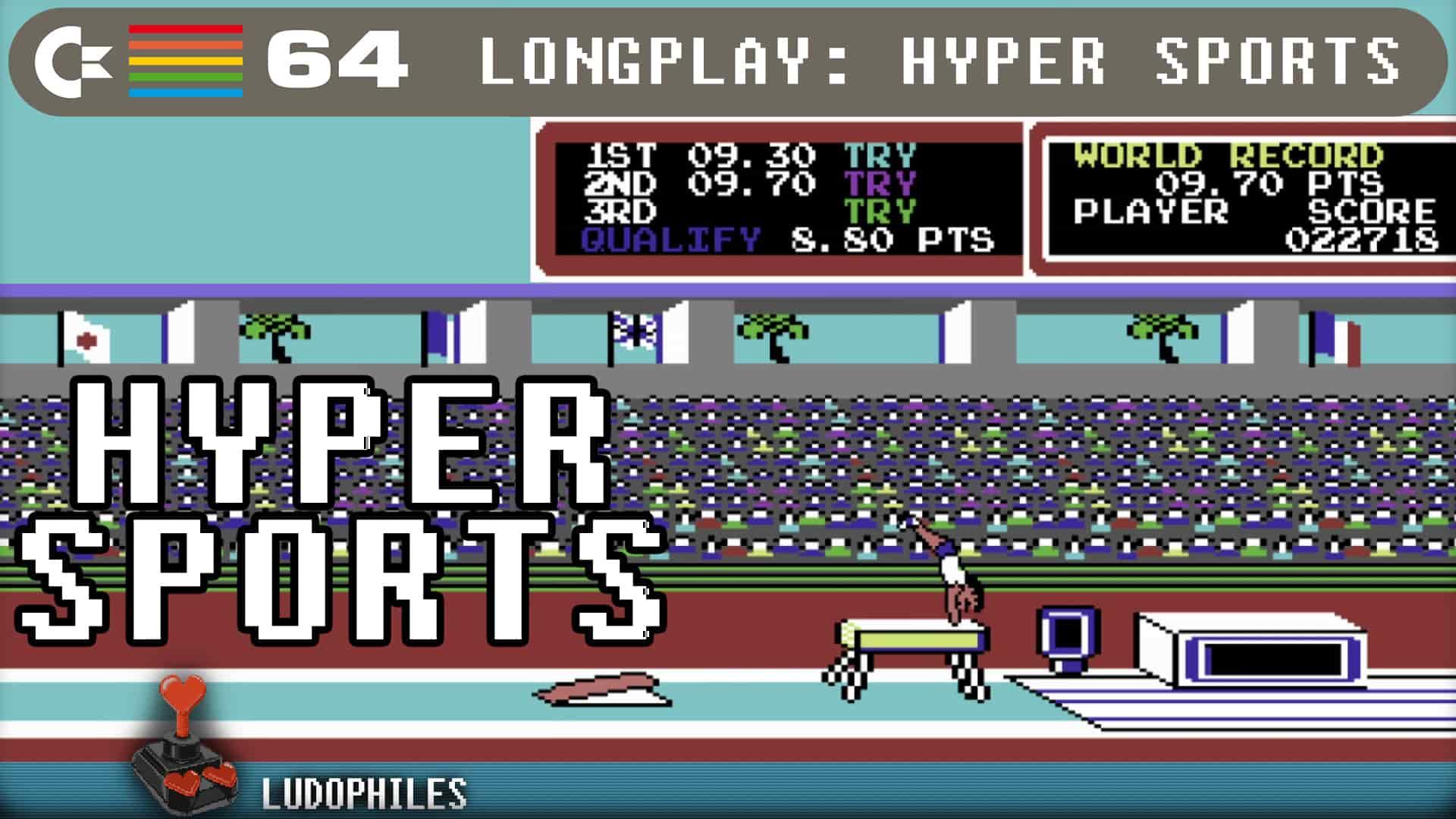 Hyper Sports C64 Longplay