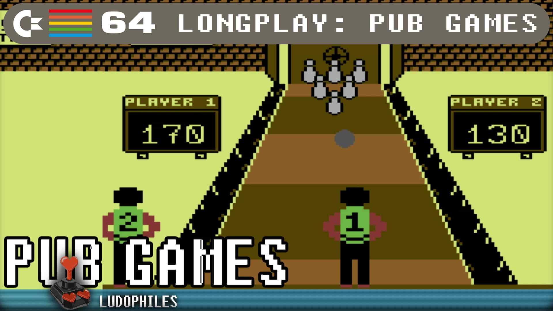 Pub Games C64 Longplay