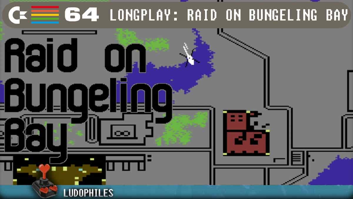Raid on Bungeling Bay C64 Longplay