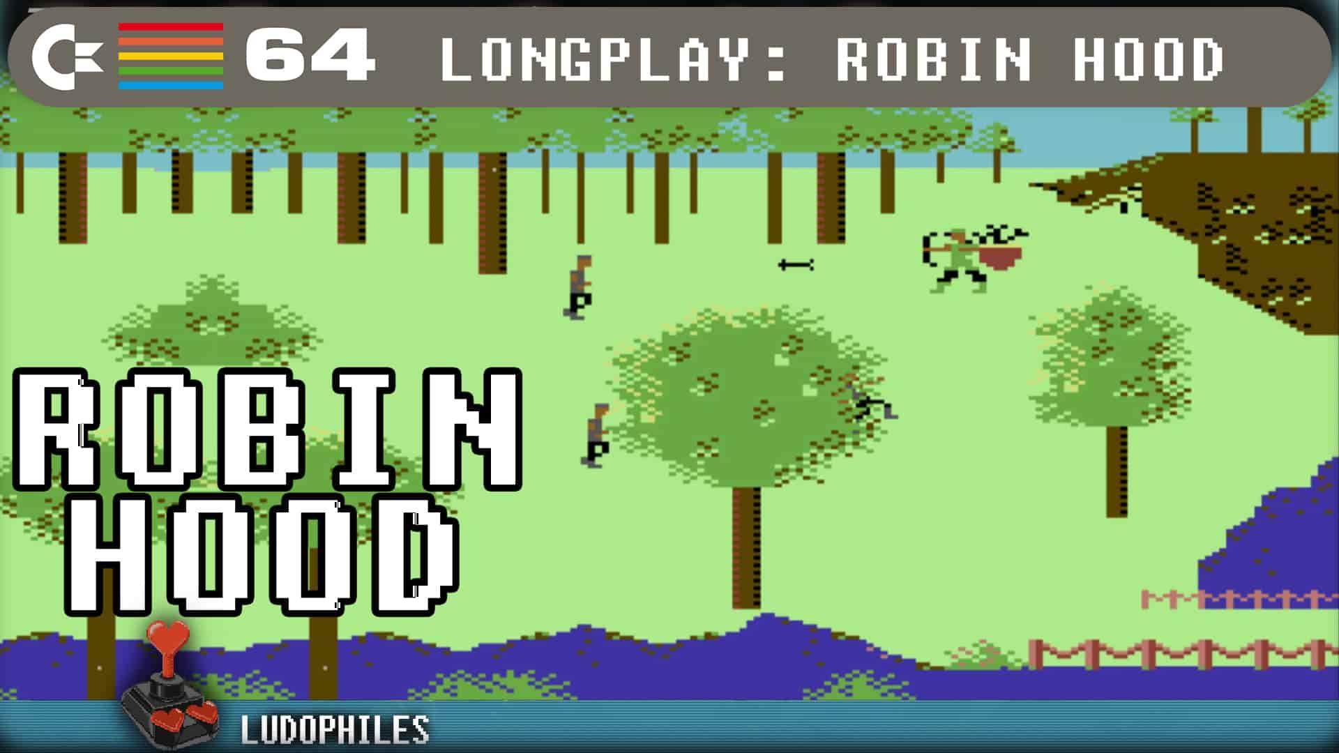 Robin Hood C64 Longplay