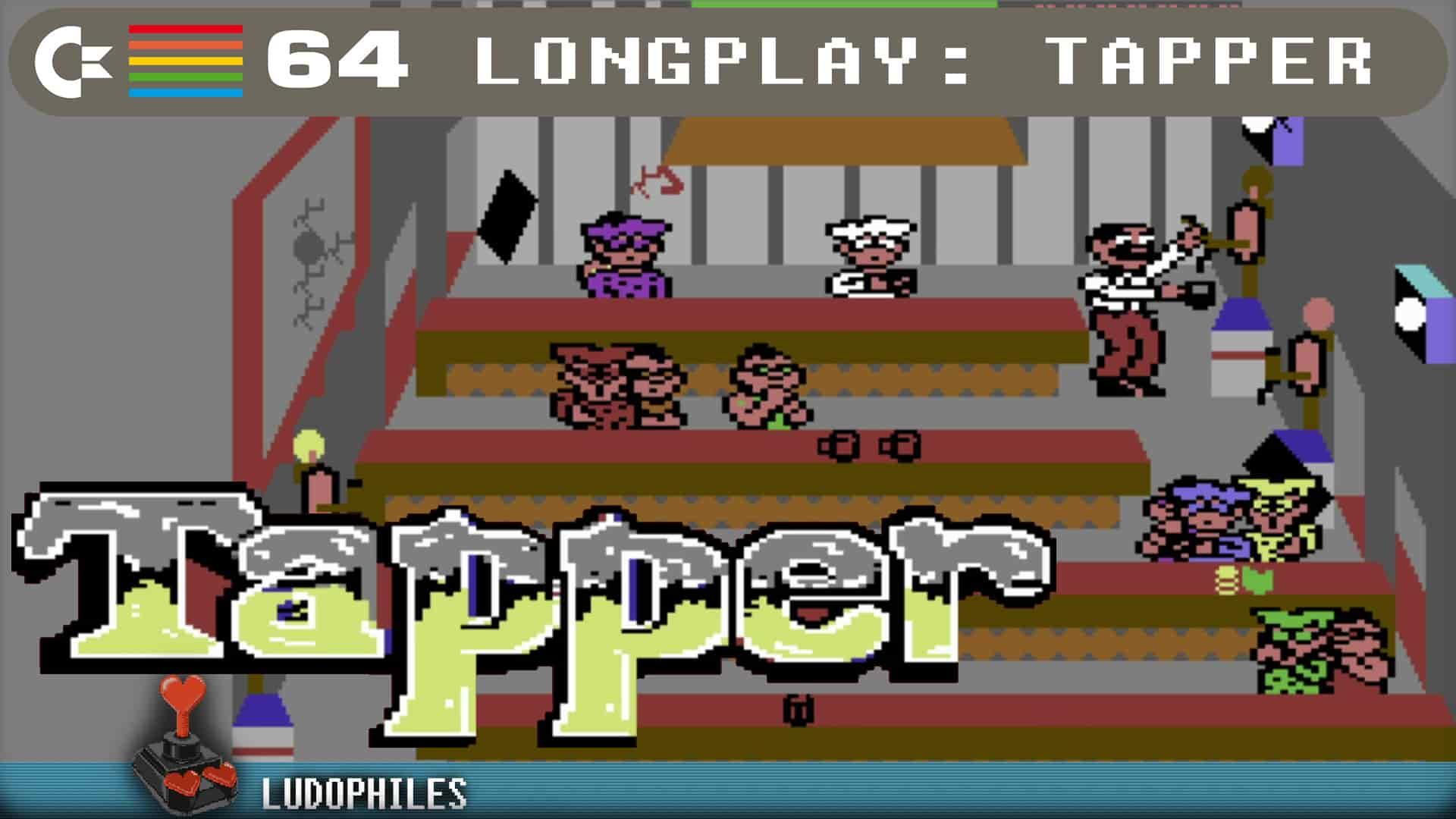 Tapper C64 Longplay