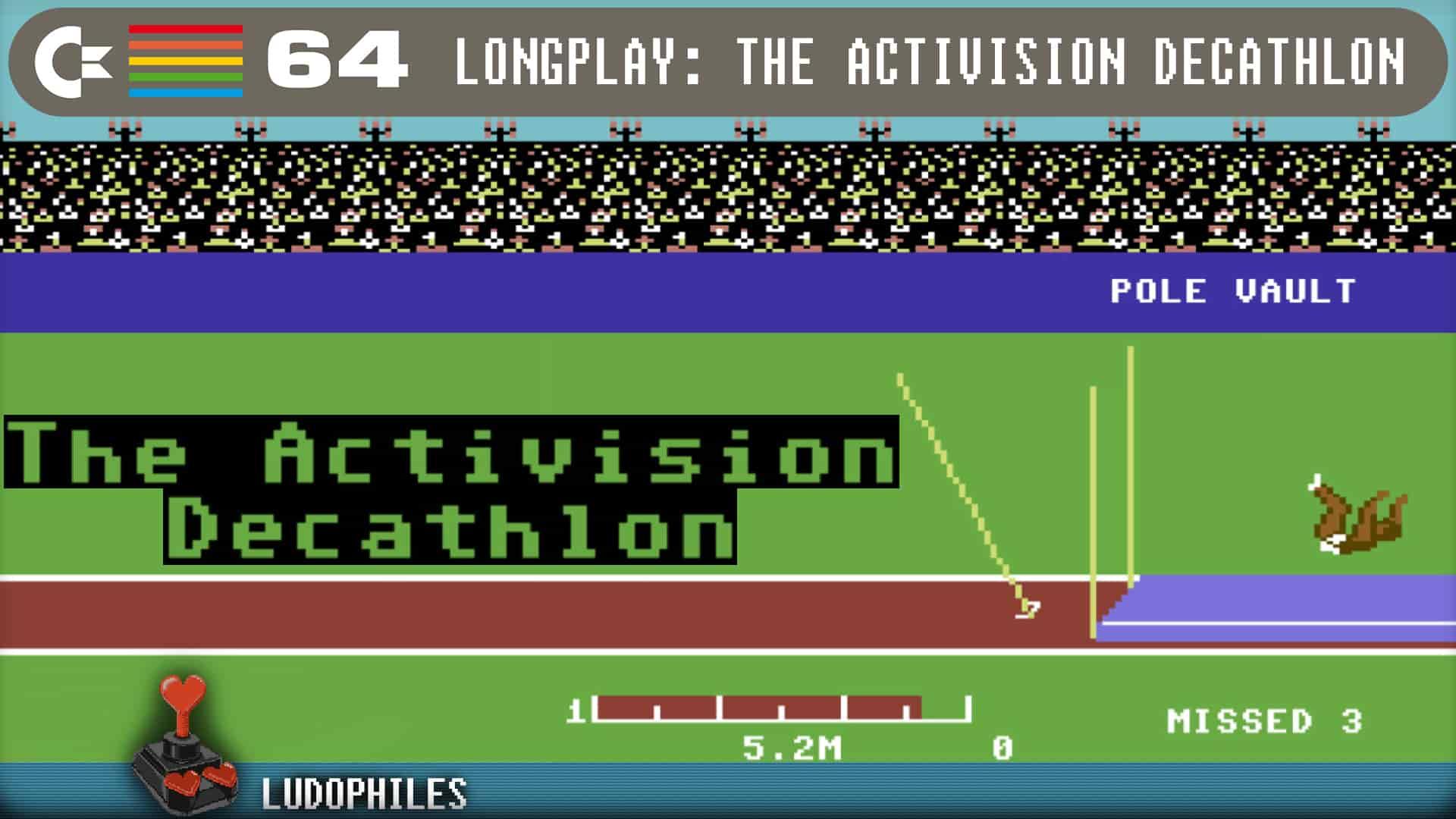 The Activison Decathlon C64 Longplay